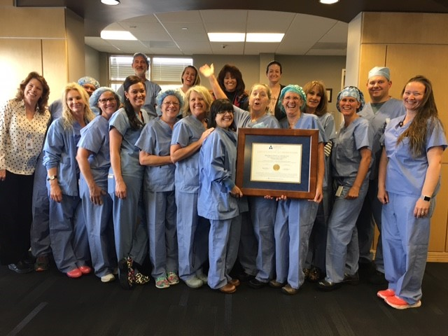 Congratulations to our team at Surgical Center of the Rockies for achieving AAAHC Accreditation!