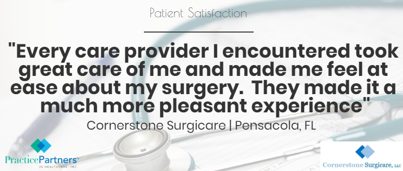 Patient Satisfaction Cornerstone 6 15 18